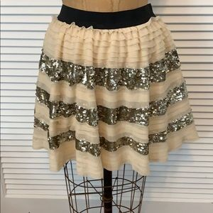 Free People skirt with sequins.